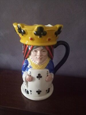 royal doulton Toby jug king and queen of clubs