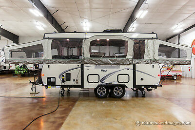 New 2018 High Wall HW29SC Pop Up Fold Down Slide Out Camper Like Rockwood HW296