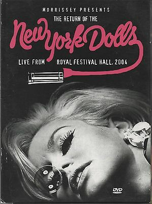 Morrissey Presents THE RETURN OF THE NEW YORK DOLLS Live UK PAL Region 0 DVD