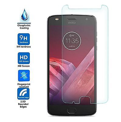 2pcs X Premium Tempered Glass Screen Protector Film For Motorola Moto Z2 Play
