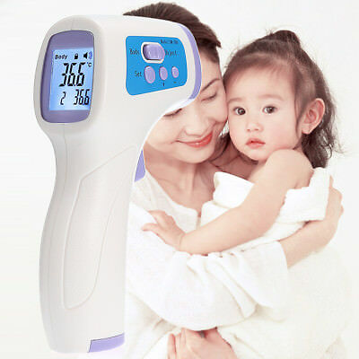 Non-contact Baby Kid Adult Body IR Infrared Temperature Thermometer Gun Digital