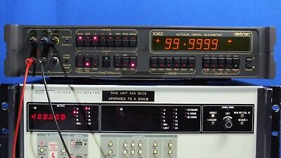 Datron 1062 Digital Multimeter DMM options: 12, 40, 81, S147 TESTED for Accuracy