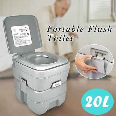 20L/10L PORTABLE Toilet Camping Potty Restroom Travel Outdoor ...