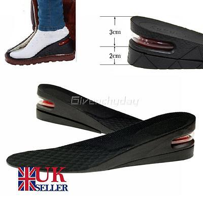 Shoe Lift Height Increase Heel Lifts Insoles Taller Air Bubble Cushion From UK