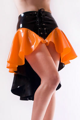 Latex GOMMA Gonna con Shorts Donna Gonna