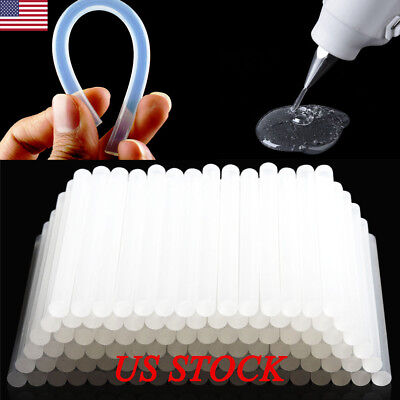 US 100 Sticks Adhesive Hot Melt 7mm /11mm Glue Sticks for Trigger Electric Gun