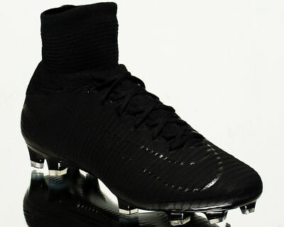 low priced 7c083 15238 Nike Mercurial Superfly V DF FG men football soccer cleats NEW black 831940 -001