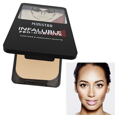 Popular Natural Face Cosmetic Bronzer Highlighter Powder Makeup Tools For Women
