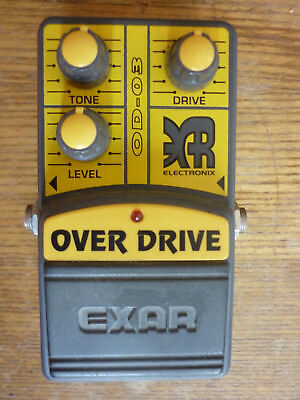 Exar Overdrive Zerrpedal