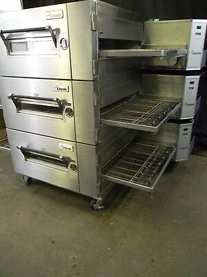 Lincoln Impinger Conveyor Triple Stack Pizza Gas Oven 1600 **we Offer Financing*