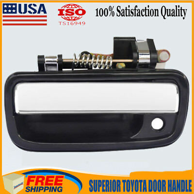 Exterior Door Handle for 95-04 Toyota Tacoma Chrome Front Left Driver Side
