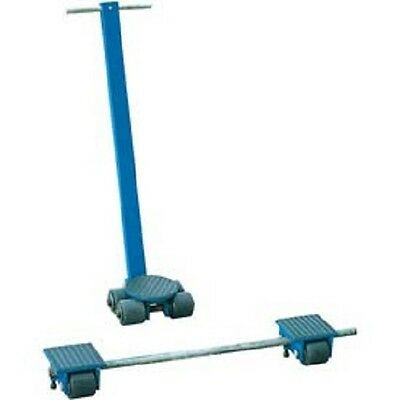 NEW! Vestil Steerable Machinery Moving Skate Roller Kits 6 Ton Capacity!!