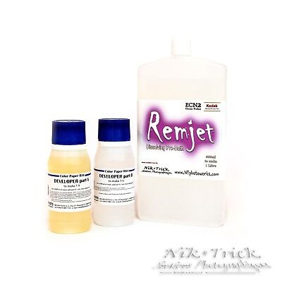 Remjet film solution - a C41 add on for motion picture films
