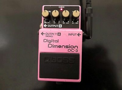 1988 BOSS DC-3 Digital Dimension, Made in Japan, MIJ, Chorus