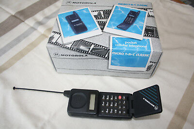Vintage Motorola Micro TAC Classic Boxed with all accessories