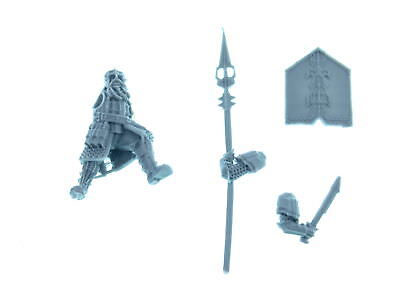 Forgeworld - Iron Hills Dwarves with Spears - Modell 1 - *BITS*