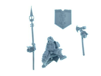 Forgeworld - Iron Hills Dwarves with Spears - Modell 2 - *BITS*