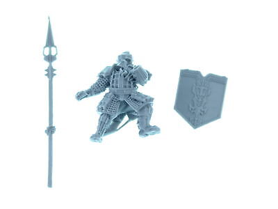 Forgeworld - Iron Hills Dwarves with Spears - Modell 3 - *BITS*