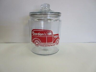 GORDON'S (REPRODUCTION) TRUCK'S CANDY PEANUTS JAR counter display