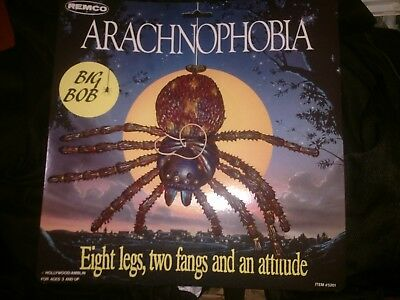 Vintage Remco Arachnophobia Movie Spider Figure Toy Rare Big Bob MOC  with tag