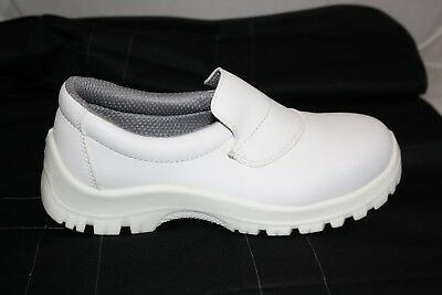 White Slip On Catering/hospital Shoes Sizes 3-12