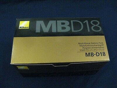 Nikon MB-D18 battery pack new nikon usa  2 days only