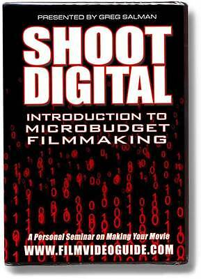 Shoot Digital: Intro to Microbudget Filmmaking DVD - Learn to Make Movies! NEW!