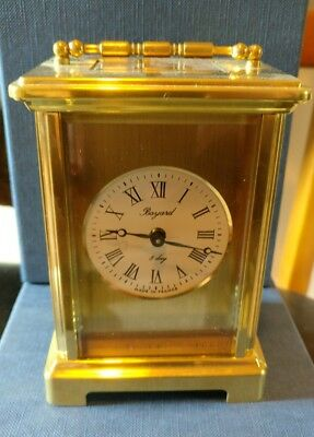 BAYARD 8 Day Carriage Clock By Duverdrey & Bloquel. France
