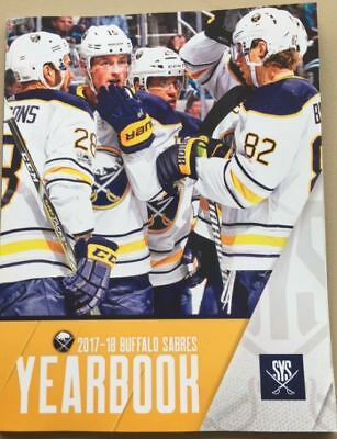 2017-2018 Buffalo Sabres Team Yearbook Nhl Stanley Cup Finals Nhl Hall Of Fame