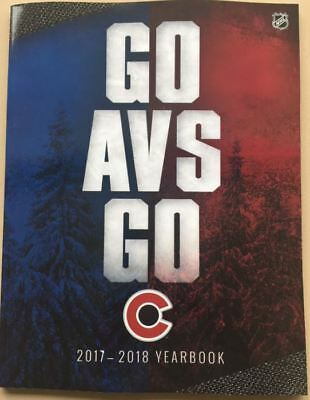2017-2018 Colorado Avalanche Yearbook Nhl Stanley Cup Finals Nhl Hall Of Fame