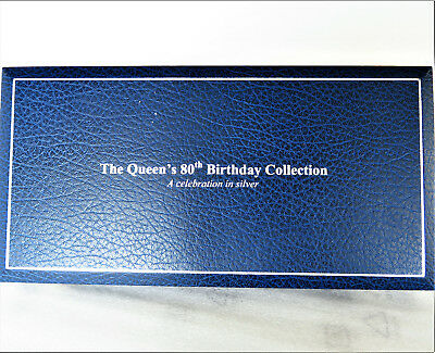 2006 UK: Royal Mint *Silver* 80th Birthday Collection w/Maundy Set *$500++ Value