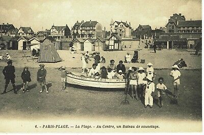 CPA -Carte postale-  FRANCE --Le TOUQUET - Paris Plage (iv 489)