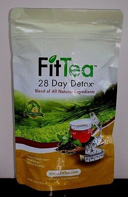 Fit Tea 28 Day Detox~Factory Sealed~Fresh~Exp 1-2021