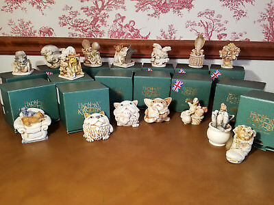 15 HARMONY KINGDOM TREASURE JESTS RETIRED NRFB ALL MINT Trinket Boxes