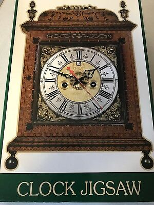 *RARE VINTAGE ORNATE working Mantle CLOCK  Jigsaw Bracket Clock Kit