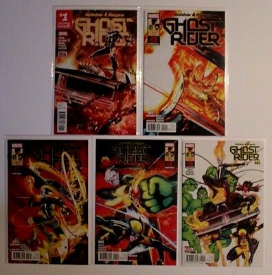 Ghost Rider Robbie Reyes 1-5 Four on the Floor Complete Set 2017 NM