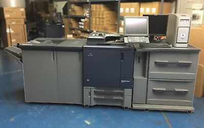 Konica Minolta bizhub PRESS C1070 with PF-602 FS-532 w/ RU-509 & IC-308