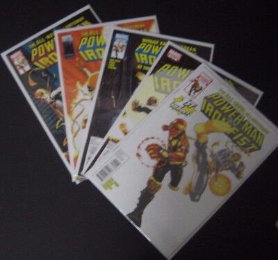 Power Man And Iron Fist 1-5 Complete Limited Series Marvel Comics Near Mint