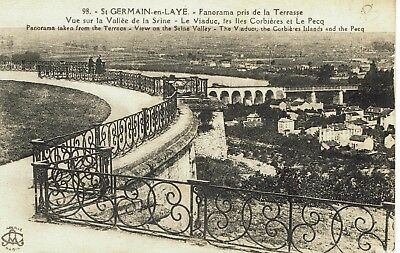CPA -Carte postale-  FRANCE - SAINT GERMAIN EN LAYE - Panorama (iv 506)