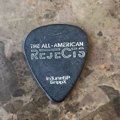 GUITAR PICK All American Rejects - Concert Tour Issue - Kids in the Street 2012