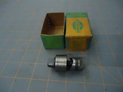 "Greenlee 730 3/4""  (Round)  Radio Chassis Punch Made In Usa Lot#gl4"