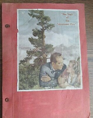 Vintage Scrapbook 1930s-40s Hollywood Glamour Movie Star  50 pages 100's of pics