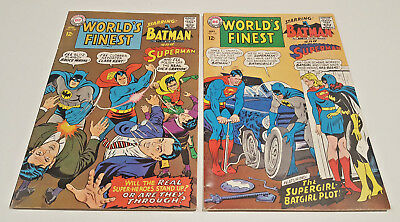 World's Finest #168 & 169 3rd New Batgirl Appearance! Supergirl (DC, 1967)