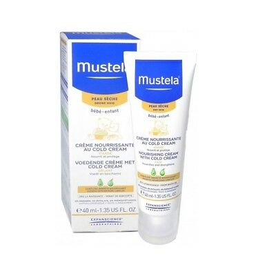 MUSTELA BEBE ENFANT Cr nourrissante cold cream T/40ml