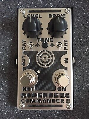 Rodenberg Commander II Boutique Distortionpedal Handmade in Germany Gitarre/Bass