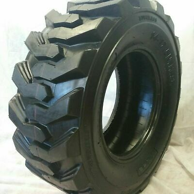 (1-Tire) 14X17.5 14 PLY ROAD WARRIOR SKID STEER TIRES 14-17.5 FOR BOBCAT 14175