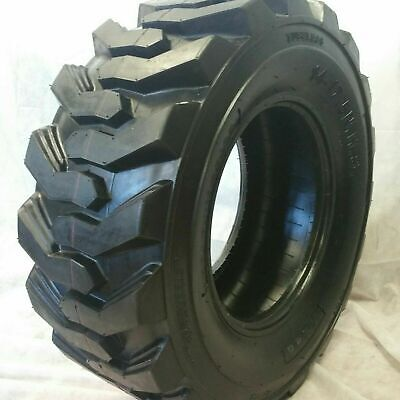 (1-Tire) 14X17.5 16 PLY ROAD WARRIOR SKID STEER TIRES 14-17.5 FOR BOBCAT 14175