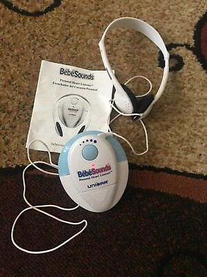 Unisar Bebe Sounds Prenatal Heart Listener - Hear/Record Baby Heartbeat & Sounds