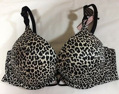 7872251e33 Victorias Secret Bombshell Plunge 32D Bra Adds 2 Cup Push Up Victorias Nwt  F1346