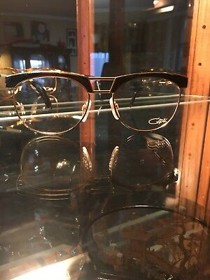 Cazal 741 Gold And Brown Marble Germany Large Mod 741 57-19 Col 97/067 145